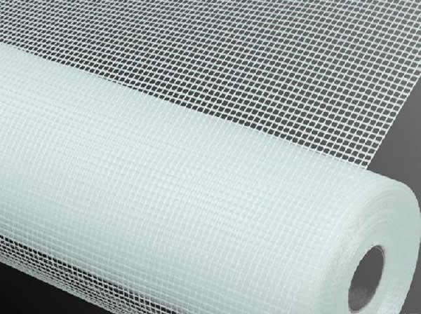 White Fiberglass Mesh : Fiberglass mesh for concrete reinforcement stucco